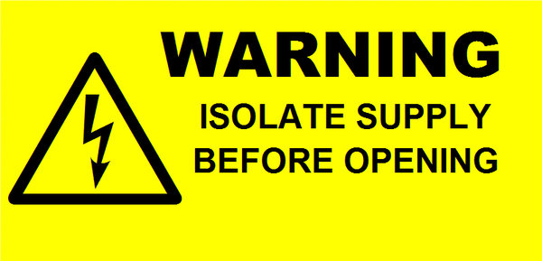 Isolate Supply Labels (WAR05)