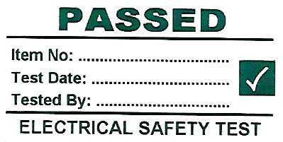 Standard PAT Passed Labels (PATPASS10)